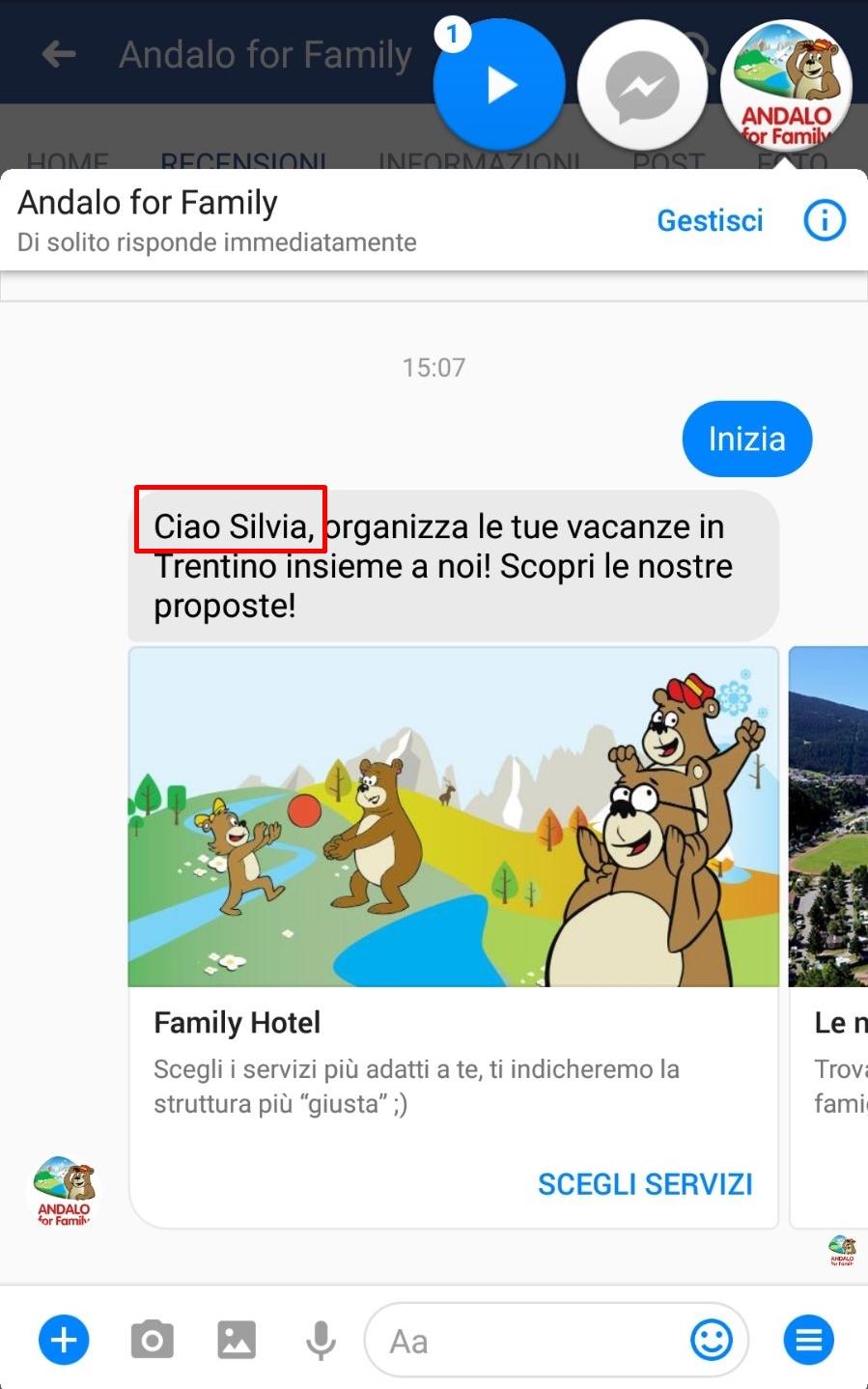 ChatBot Andaloforfamily