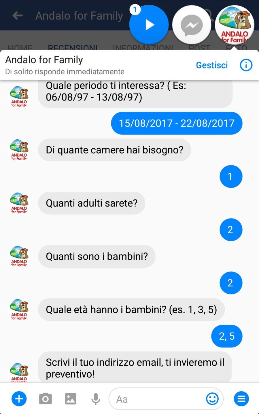 Chat Bot AFF